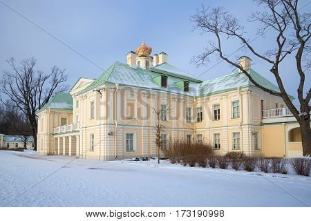 February at the Grand Menshikov Palace. Oranienbaum, Russia