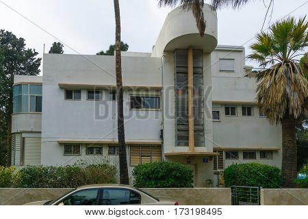 Bauhaus Style House, In Haifa