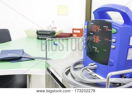 blood pressure monitor equipment medical care for check hypertension hypotension disease