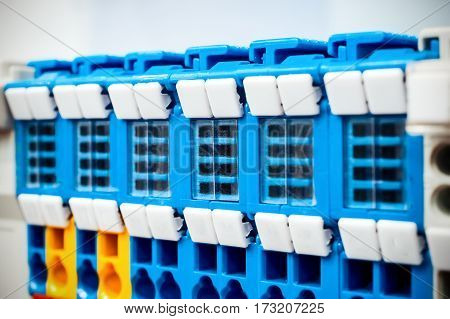 Electric wiring connectors or Terminal Block for Industrial Electronic.