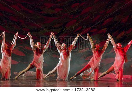 Ukrainian Historical Ballet Princess Olga