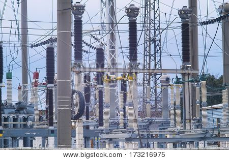 An electrical equipment for power supply of the city