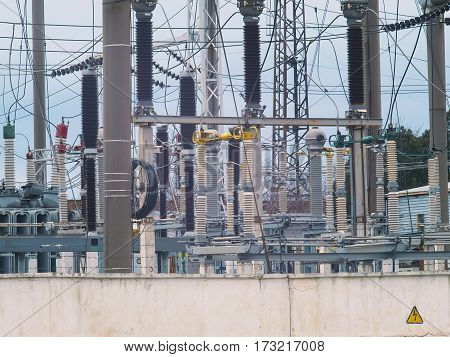 An electrical equipment for power supply of city