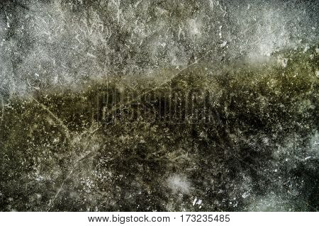 Ice, ice texture, abstract ice background, scabrous ice pattern, grunge ice
