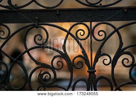 Forged steel openwork lattice