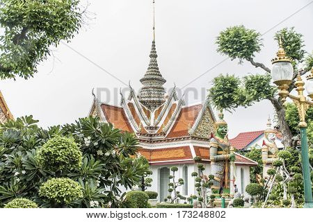 Wat Pho Temple Buddhism Bangkok Thailand architecture buildings
