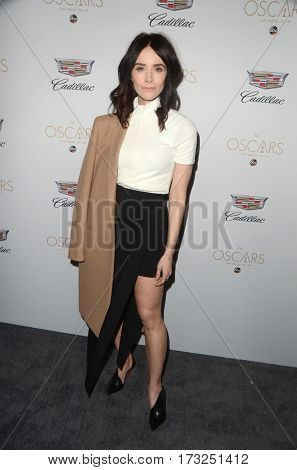 LOS ANGELES - FEB 23:  Abigail Spencer at the Cadillac Hosts their Annual Oscar Week Soiree at the Chateau Marmont on February 23, 2017 in West Hollywood, CA
