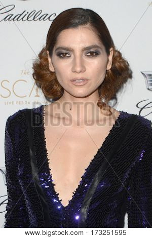 LOS ANGELES - FEB 23:  Blanca Blanco at the Cadillac Hosts their Annual Oscar Week Soiree at the Chateau Marmont on February 23, 2017 in West Hollywood, CA