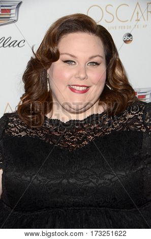 LOS ANGELES - FEB 23:  Chrissy Metz at the Cadillac Hosts their Annual Oscar Week Soiree at the Chateau Marmont on February 23, 2017 in West Hollywood, CA