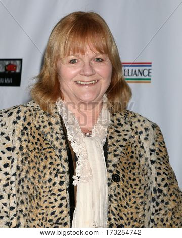 LOS ANGELES - FEB 23:  Lesley Nicol at the 12th Annual Oscar Wilde Awards at Bad Robot Studios on February 23, 2017 in Santa Monica, CA