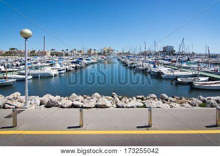 Portixol Harbor