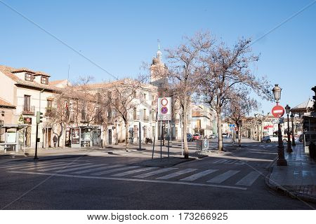 Cervantes Square And Town Hall