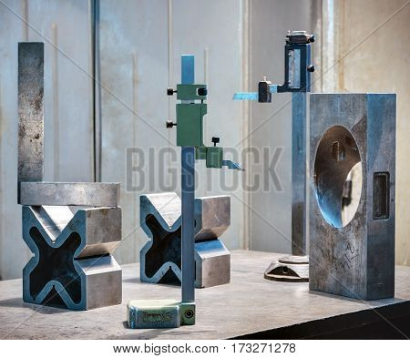 old measuring instruments are used in the manufacture of machinery