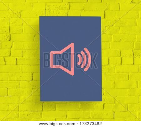 Loudspeaker Sound Loudness Graphic Symbol Icon