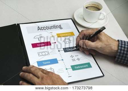 Economy Trade Financial Accounting Icons