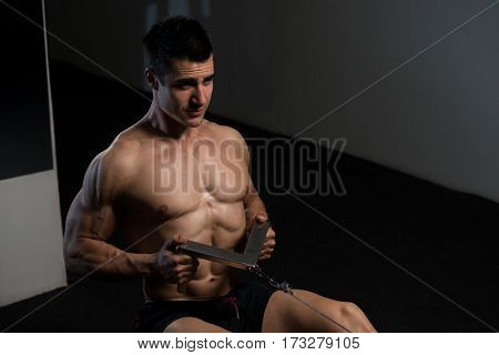 Back Exercise In A Gym