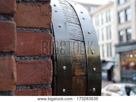Bricks And Barrels  Decorating Water Street