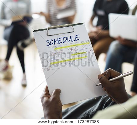 Meeting Presentation Planning Graphic Word