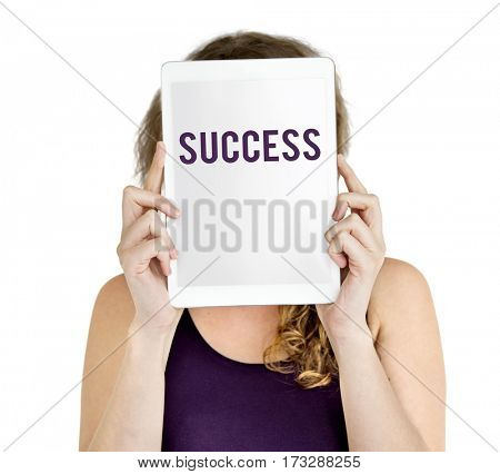 Corporate Business Success Victory Concept