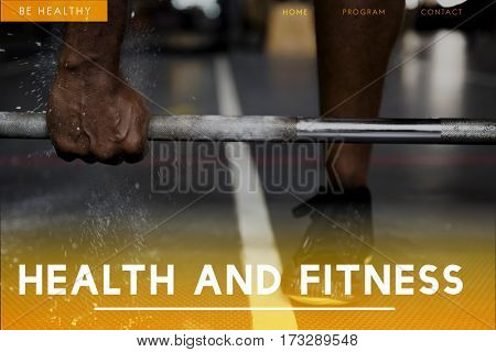 Health and Fitness Concept