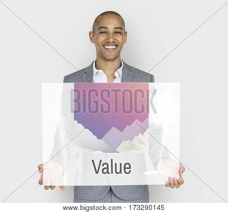 Businessman  Value Studio Portrait Concept