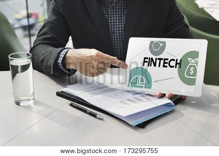 Trade financial money banking icon graphic
