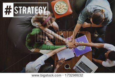 friends Teamwork Corporate Strategy Operation