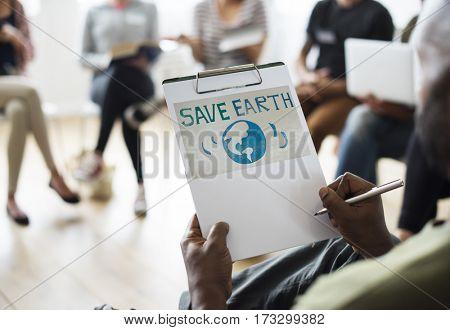 Meeting Presentation Planning Graphic Word