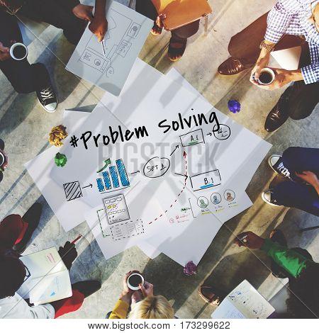 Development Problem Solving Management Icon