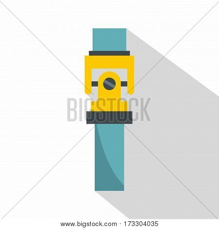 Mechanic detail icon. Flat illustration of mechanic detail vector icon for web
