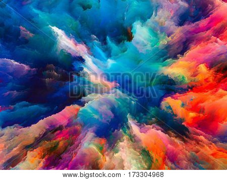 Energy Of Surreal Paint