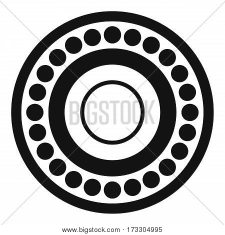 Bearing icon. Simple illustration of bearing vector icon for web