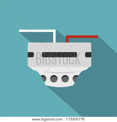 Monitor socket icon. Flat illustration of monitor socket vector icon for web