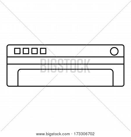Conditioner icon. Outline illustration of conditioner vector icon for web