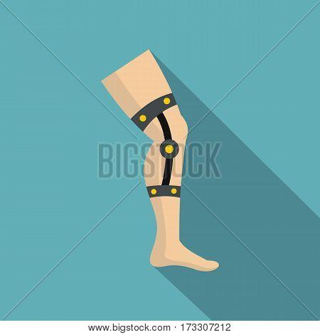 Retentive bandage icon. Flat illustration of retentive bandage vector icon for web