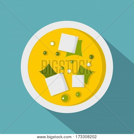Asian sauce icon. Flat illustration of asian sauce vector icon for web