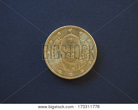 Pope Francis I 50 Cents Coin