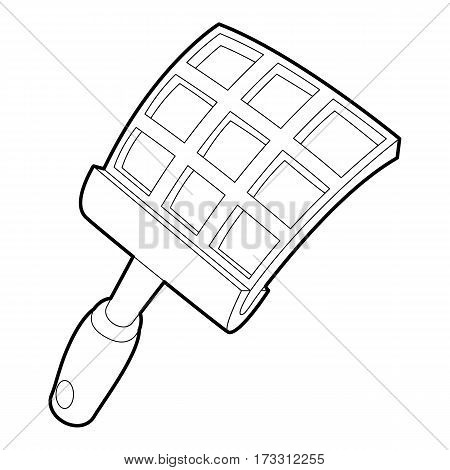 Swatter icon. Outline illustration of swatter vector icon for web