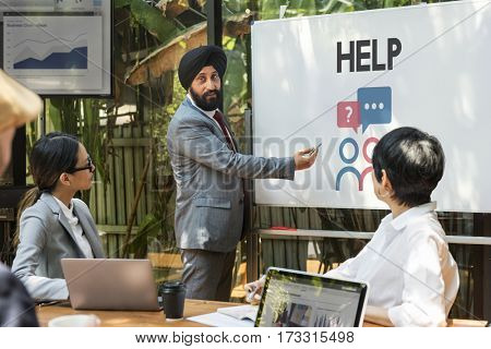 Support Consulting Help Graphic Icon Word