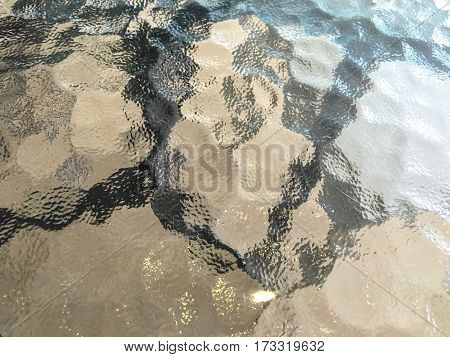 abstract table glass texture and background .