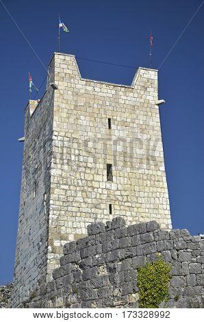 Anacopia fortress in the mountains, New Athos, Abkhazia