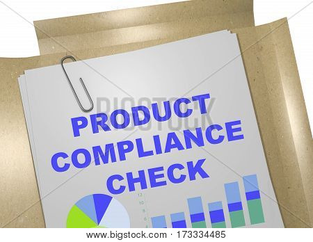 Product Compliance Check - Business Concept