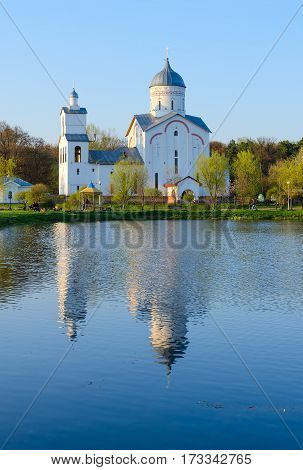 Church of St. Blessed Prince Alexander Nevsky in recreation area