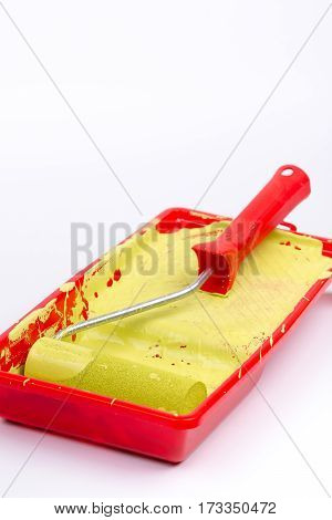 Paint Bucket With Sponge For Paintwork