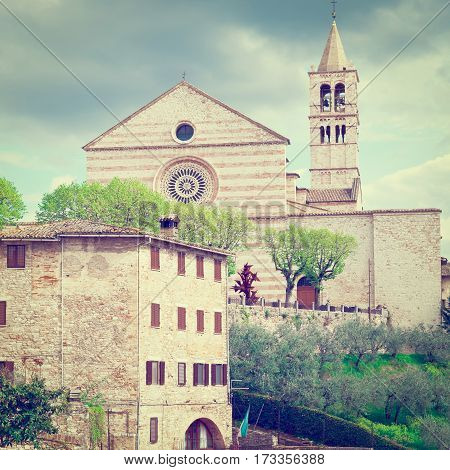 Catholic Church in the Italian City of Assisi Instagram Effect