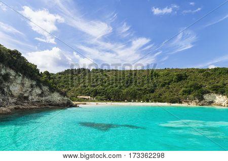 Azure Water On A Greek Beach