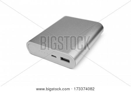 a powerbank isolated on a white background