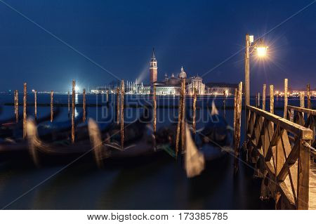 the view from saint Marcos square in Venice