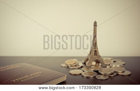 Saving Money for Vacation in France Paris