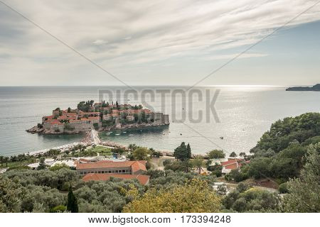 Beautiful Luxury Island In Montenegro Called Sveti Stefan